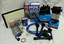 **Cap-Rotor-NGK Wires-Spark Plug-Filter Kit Honda Civic EG EK CX DX LX 1.6L