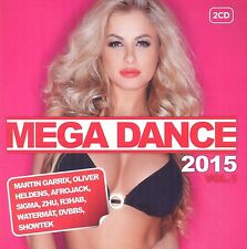 Mega Dance 2015 vol.1 2 CD (zhu., Martin Garrix, Afrojack, Paloma Faith) NUOVO
