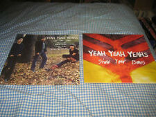 YEAH YEAH YEAHS-(show your bones)-1 POSTER FLAT-2 SIDED-12X12-NMINT-RARE