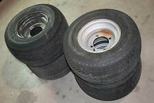 Set of 4 Goodyear 10 x 8.5AT Terra Tire Power Rib 20x10.00-10NHS Tires w/ Rims