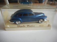 Solido Chrysler Windsor in Blue on 1:43 in Box