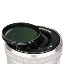 JJC 40.5mm S+Ultra Slim Multi-Coated Circular Polarizing CPL Filter fr DSLR Lens
