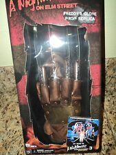NIGHTMARE ON ELM STREET FREDDY KRUEGER GLOVE HALLOWEEN NECA PROP REPLICA KREUGER