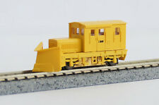 Locomotive TMC100BS w/Snow Plow (Yellow/3 Window) - Tsugawa Yokou 14024(N scale)