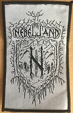 Nebelland - Logo (Aufnäher/Patch) Pagan Black Metal