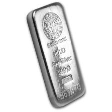 Genuine 1 kilo 0.999 Fine Silver Bar - Argor/Heraeus Lot 30045
