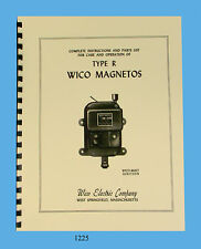 Wico Type R Magneto Service & Parts Manual   *1225