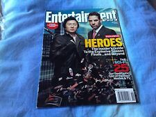 Entertainment Weekly EW Magazine - Heroes Collector Cover #1 May 2007 Hiro Masi