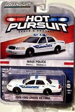 GREENLIGHT HOT PURSUIT SERIES 17 2008 FORD CROWN VICTORIA MAUI, HAWAII POLICE