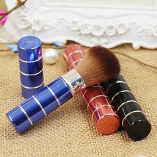 Einziehbare Blush Brush Foundation Puder Rouge Make-up Pinsel mit Kappe