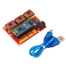 CNC Shield V4 Expansion Board Set A4988 With USB Cable For Arduino 3D Printer IB