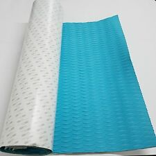 EVA Foam Blue Diamond Grip Decking Sheet SUP SURF Boat Yacht With 3M Adhesive