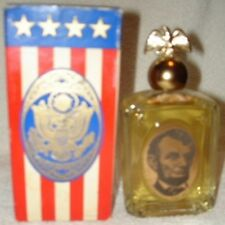 Vtg 1970 Avon Abraham Lincoln Wild Country After Shave-New In Box-Free Shipping
