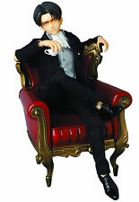1/6 Medicom Real Action Heroes RAH Levi Plain Clothes Chair Attack on Titan MIB