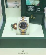 Rolex Datejust 18K Gold & Stainless Steel Watch Mens 116233 Oyster w/ Appraisal