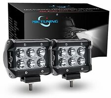 Mictuning Cree Led Light For Bar Spot 4x4 Off Road Beams Headlights Boat Driving