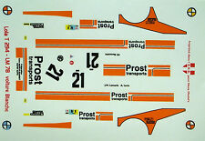 decals 1/43: Lola T294 Le Mans 1978 N°21