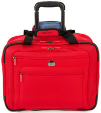 Delsey Helium Sky 2.0 Trolley Tote Briefcase Carry On Luggage - Red