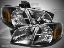 97-05 Venture Silhouette Transport Montana Headlights Corner Lights Black
