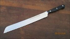 Vintage WUSTHOF Germany Pre-Classic Forged Chef's Serrated Bread Slicing Knife