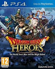 Dragon Quest Heroes: The World Tree's Woe and The Blight Below For PAL PS4 (New)
