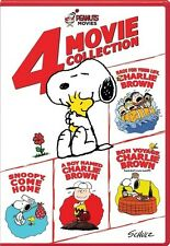Peanuts: 4-Movie Collection 032429238047 (DVD Used Very Good)