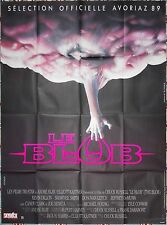 1988 THE BLOB Chuck Russell HORROR French 47x63 movie poster