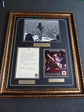 JIMI HENDRIX Owned Worn Scarf & Last Concert Photo & Death Certificate un signed