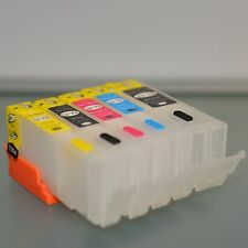 EMPTY Refillable ink cartridge for canon  MX722 MX922 IP7220 PGI-250 CLI-251 ARC