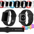 Strap Bracelet Band Silicone Fitness Replacement For Apple Watch 38/42mm