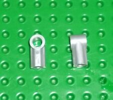 LEGO - TECHNIC - AXLE & PIN CONNECTORS ANGLED #1 PEARL Lt GREY x 6 (32013) TK205