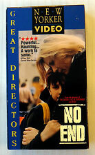 No End ~ Rare HTF OOP VHS Movie ~ Polish with English Subtitles ~ Video Tape