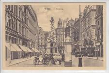 AK Wien I, Graben, Fiaker, um 1910