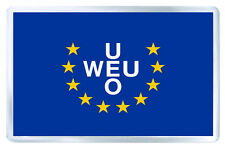 WESTERN EUROPEAN UNION FLAG FRIDGE MAGNET IMAN NEVERA