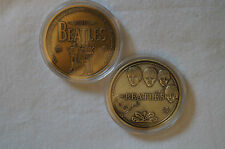 The Beatles - 1960-1970 - 1 oz. Bronze Plated Coin in Case.