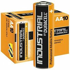 100x DURACELL AA INDUSTRIAL BATTERY exp 2022