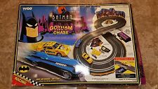 VINTAGE TYCO BATMAN THE ANIMATED SERIES R/C GOTHAM CITY CHASE RACING SET 1993