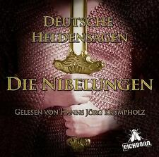 Hörbuch: Deutsche Heldensagen - Die Nibelungen - 2 CDs