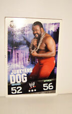 carte catch slam attax evolution topps  - JUNKYARD DOG