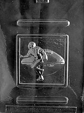 FOOTBALL PLAQUE mold Chocolate Candy plaster candy molds nfl super bowl