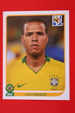 Panini SOUTH AFRICA 2010 503 BRASIL LUIS FABIANO TOPMINT!!