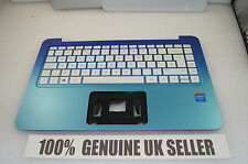 GENUINE HP Stream 13 Palmrest Middle Cover UK Keyboard 792791-031