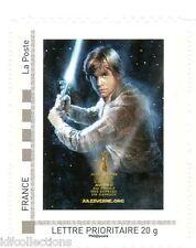 """timbre seul issu du Collector Star wars du carré d'encre """" Luke Skywalker """""""