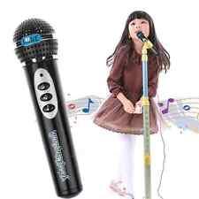 black Child Girls Boys Microphone Mic Karaoke Singing Kids Funny Music Toy Gift