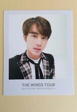 2017 Bangtan Boys BTS THE WINGS TOUR Official Ticket Album Photocard Jin