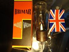 BRIMAR 5R4GY BRITISH OLD STOCK BOXED TESTED STRONG RECTIFIER VINTAGE VALVE TUBE