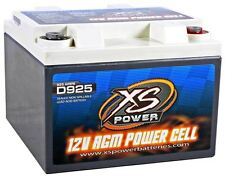 XS Power D925 2000 Amp AGM Power Cell Car Audio Battery + Terminal Hardware