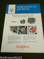 HOROLOGICAL JOURNAL - DEC 1969 - SELF WINDING WATCH Pt 2