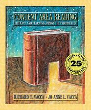 Content Area Reading: Literacy and Learning Across the Curriculum (8th Edition..