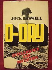 D-Day : Intelligence and Deception by Jock Haswell (1979 Hardback w/ Dust Jacket